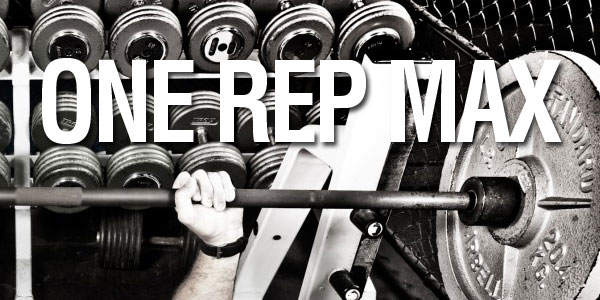 one rep max cool