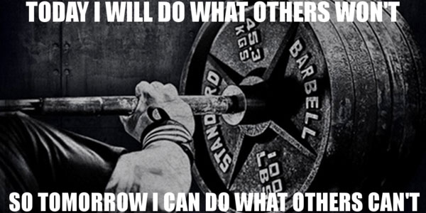 Weight Lifting Quotes Beauteous 48 Best Gym Motivation Training Quotes A48Supplements Articles