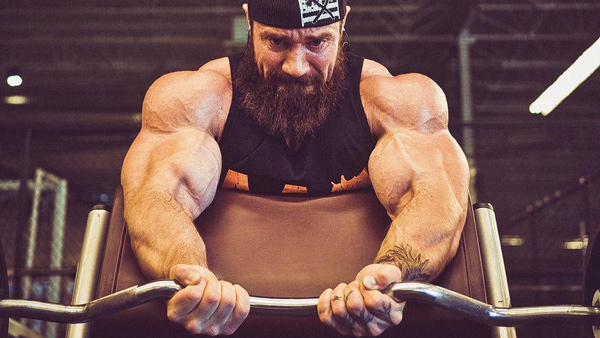A1Supplements Primeval Labs Hardcore Bicep Workout